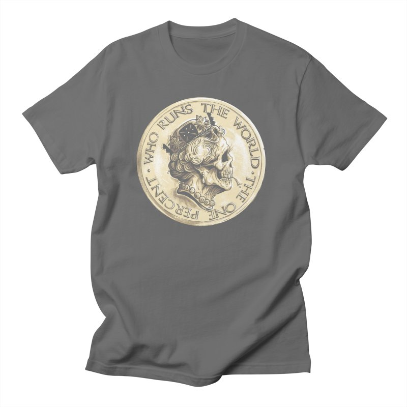 Every coin has two faces Women's T-Shirt by Alexhovey's Artist Shop