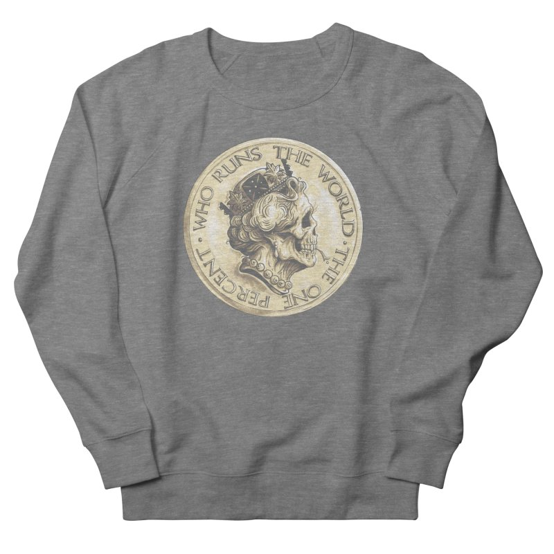 Every coin has two faces Men's French Terry Sweatshirt by Alexhovey's Artist Shop
