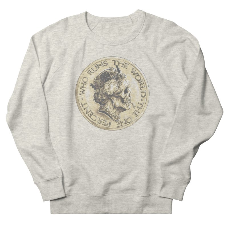 Every coin has two faces Men's Sweatshirt by Alexhovey's Artist Shop