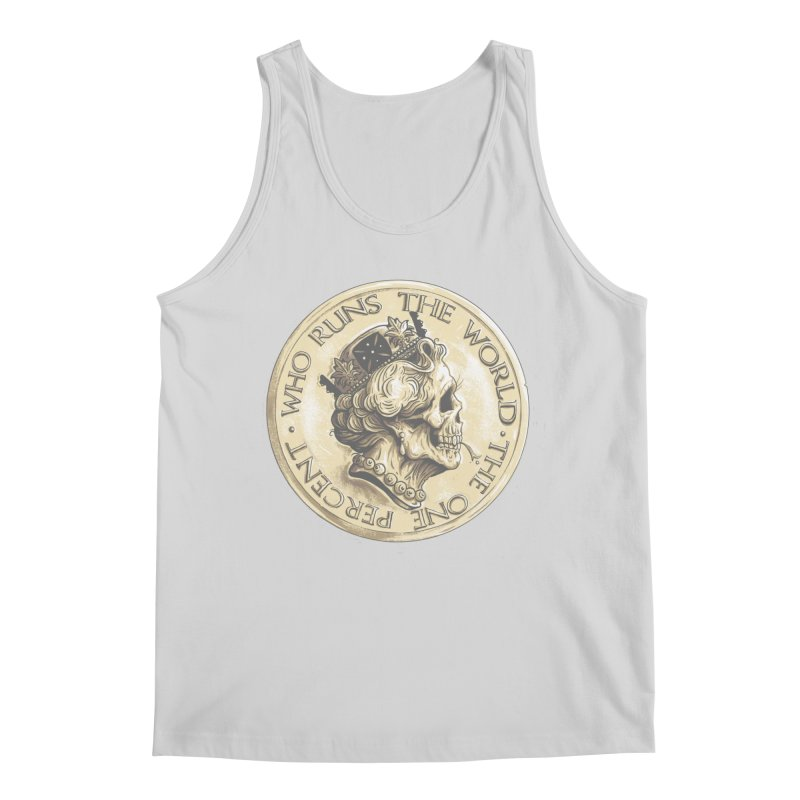 Every coin has two faces Men's Regular Tank by Alexhovey's Artist Shop