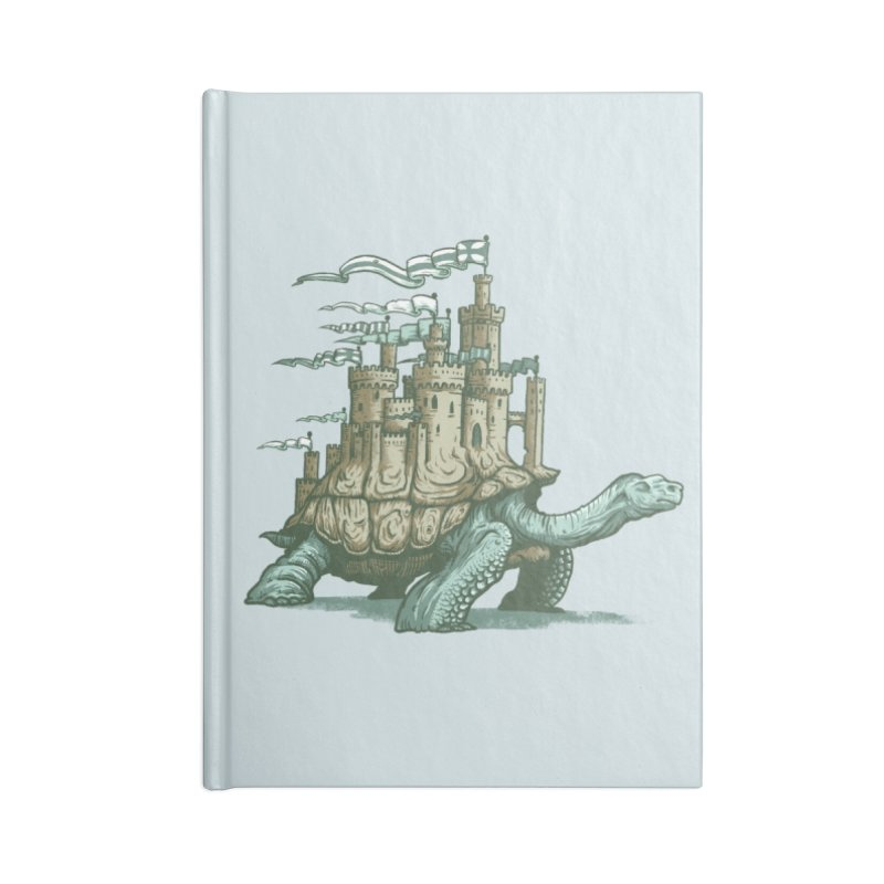 Slow and steady Accessories Lined Journal Notebook by Alexhovey's Artist Shop
