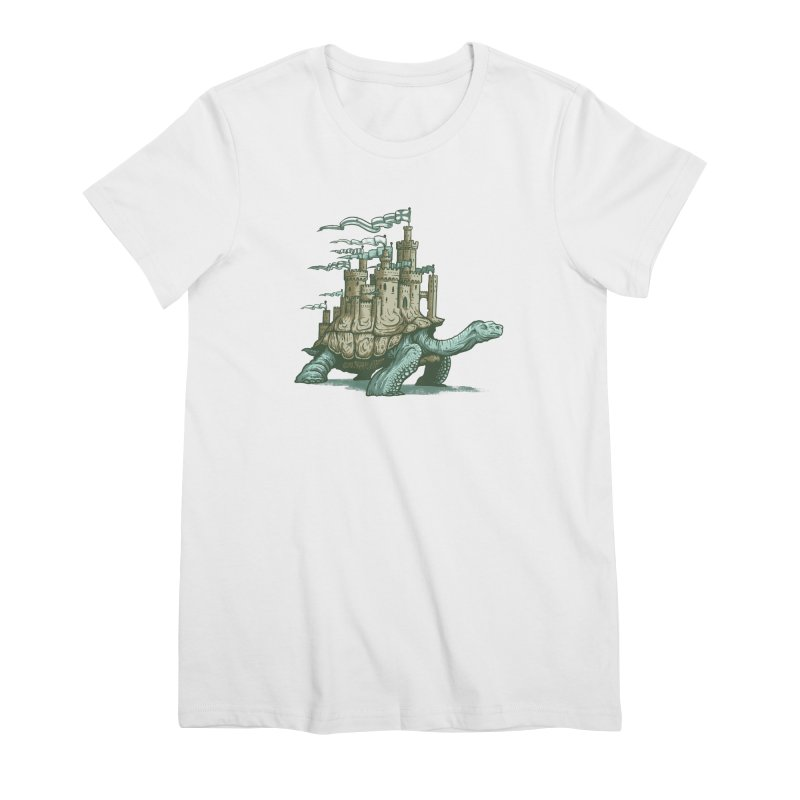 Slow and steady Women's Premium T-Shirt by Alexhovey's Artist Shop