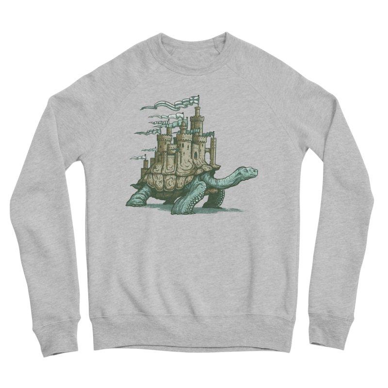 Slow and steady Men's Sponge Fleece Sweatshirt by Alexhovey's Artist Shop