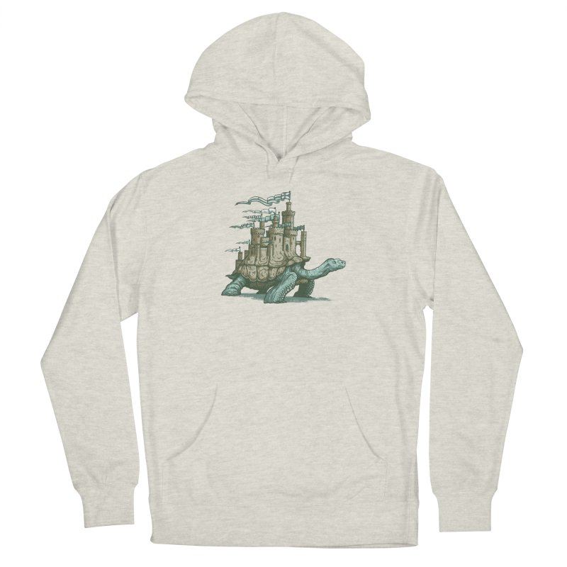 Slow and steady Men's French Terry Pullover Hoody by Alexhovey's Artist Shop