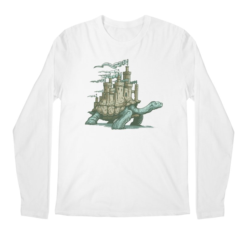 Slow and steady Men's Regular Longsleeve T-Shirt by Alexhovey's Artist Shop