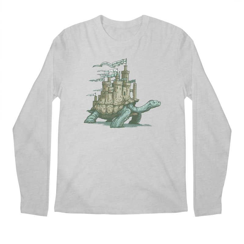 Slow and steady Men's Longsleeve T-Shirt by Alexhovey's Artist Shop