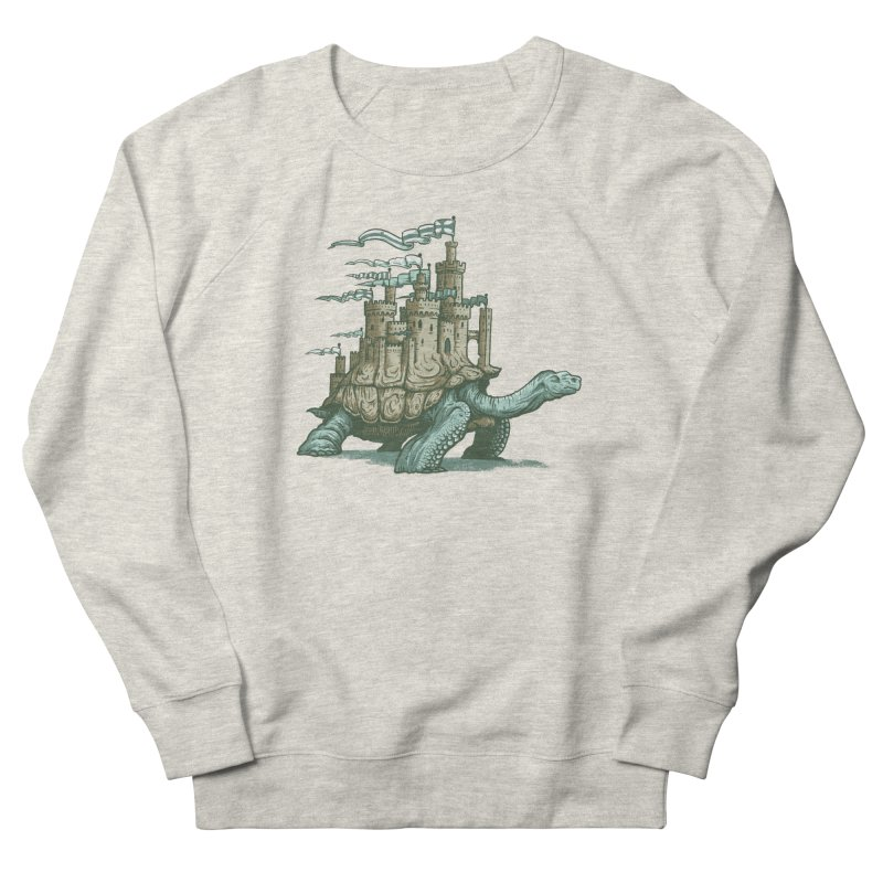 Slow and steady Women's French Terry Sweatshirt by Alexhovey's Artist Shop