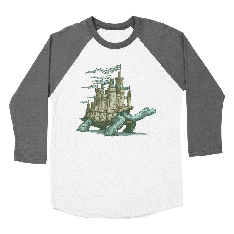 Slow and steady Men's Baseball Triblend Longsleeve T-Shirt by Alexhovey's Artist Shop