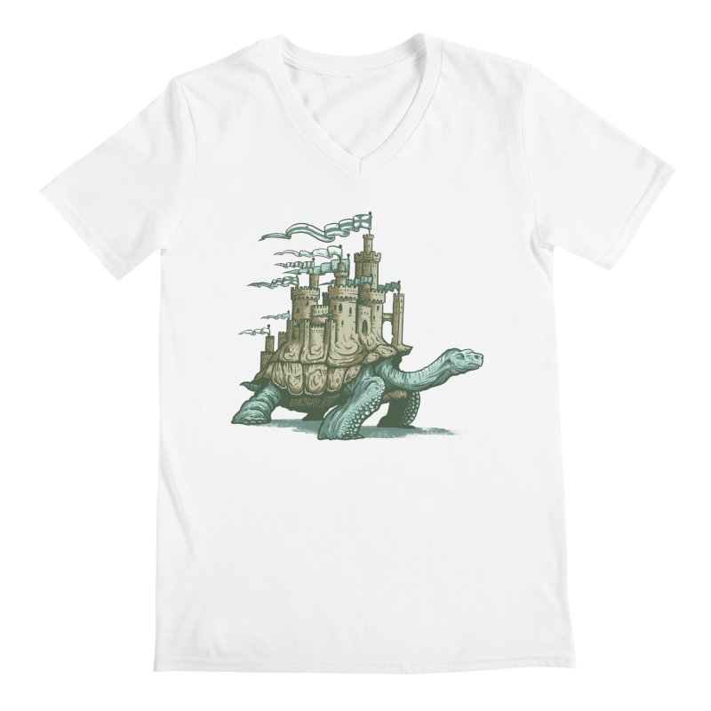 Slow and steady Men's Regular V-Neck by Alexhovey's Artist Shop