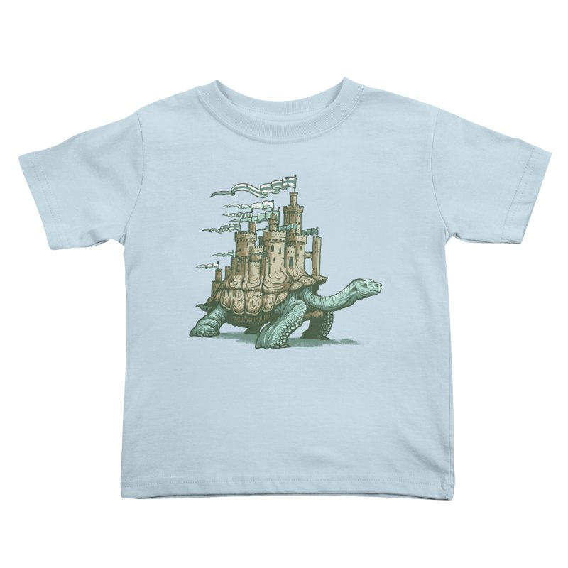 Slow and steady Kids Toddler T-Shirt by Alexhovey's Artist Shop