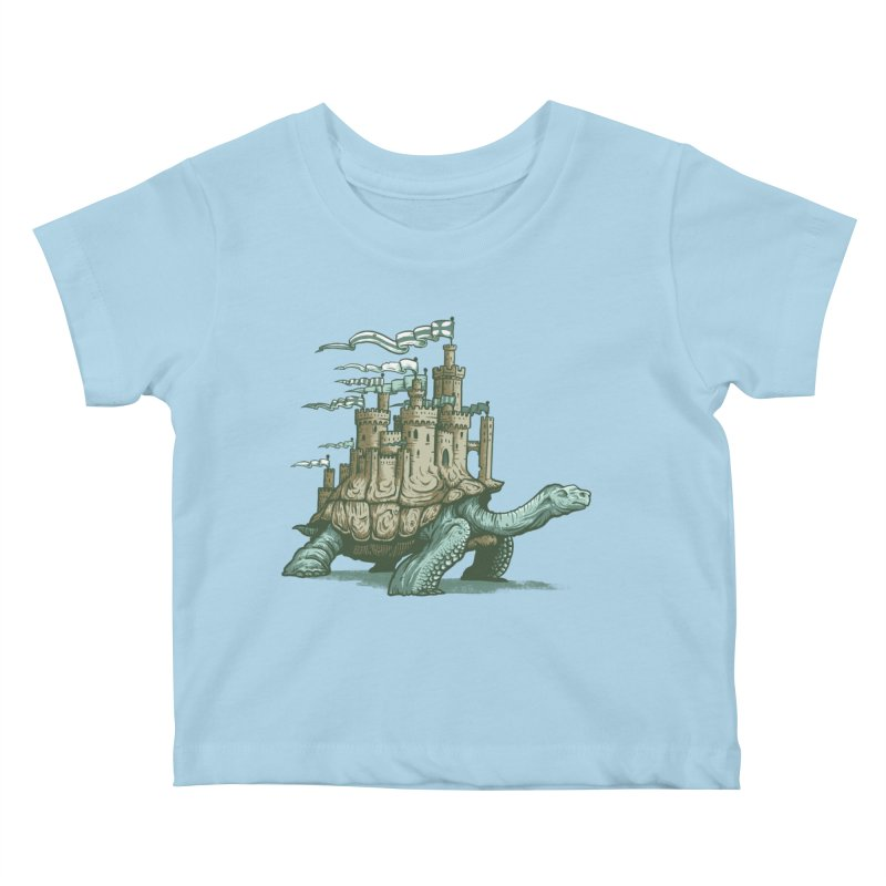 Slow and steady Kids Baby T-Shirt by Alexhovey's Artist Shop
