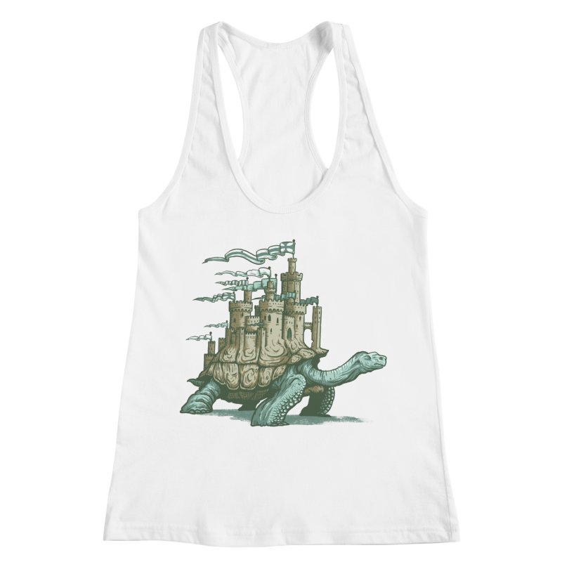 Slow and steady Women's Racerback Tank by Alexhovey's Artist Shop