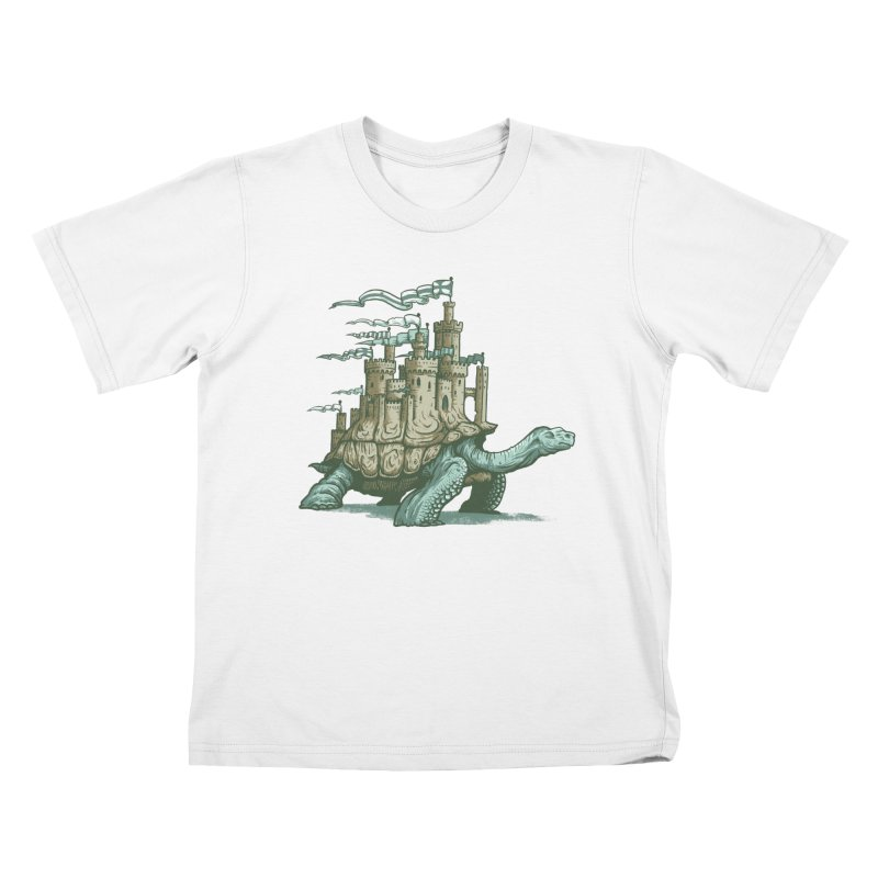 Slow and steady Kids T-Shirt by Alexhovey's Artist Shop