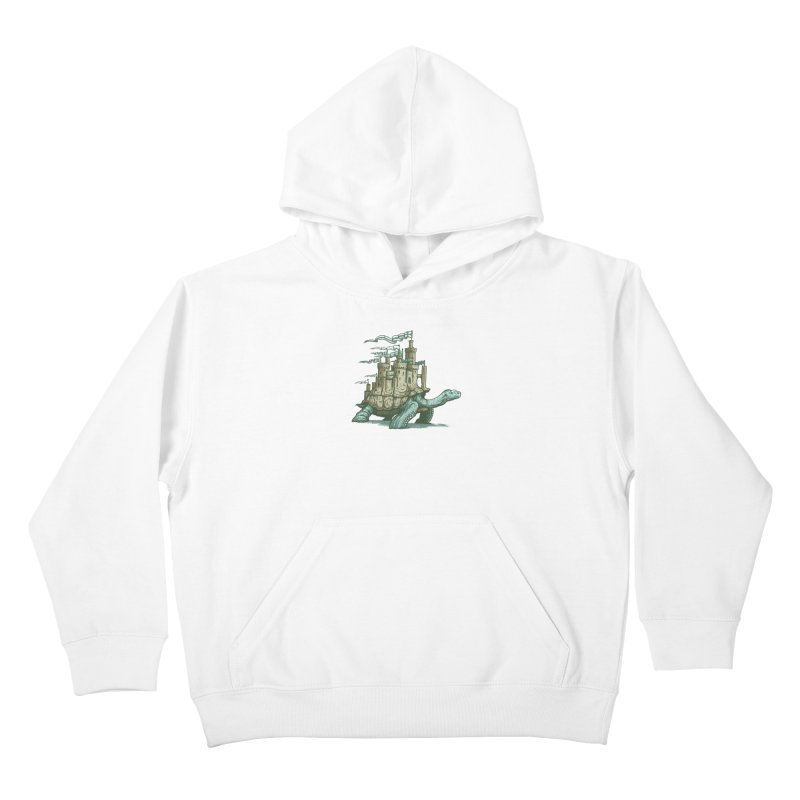 Slow and steady Kids Pullover Hoody by Alexhovey's Artist Shop