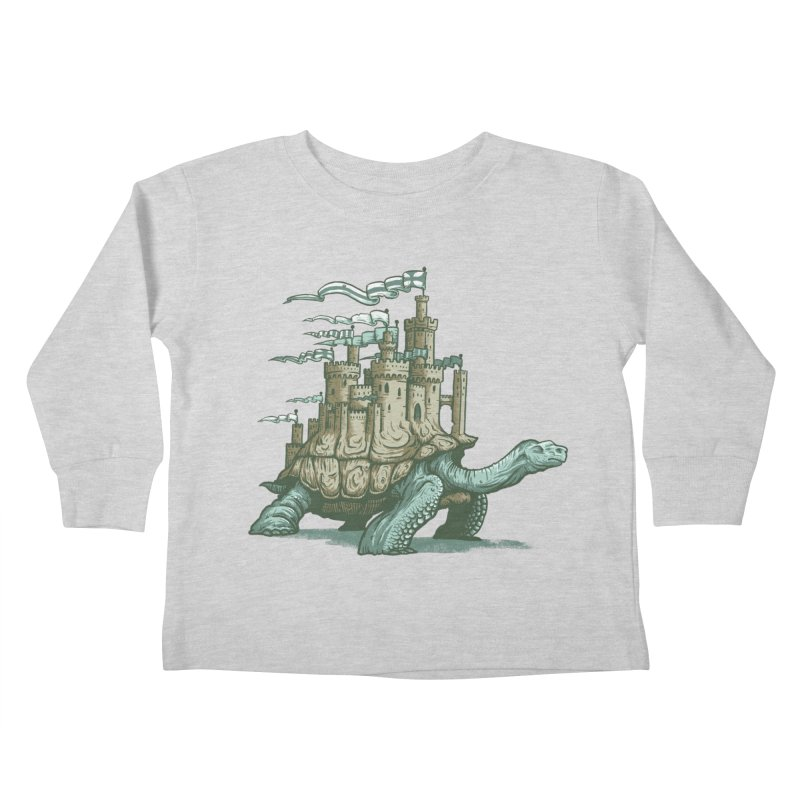 Slow and steady Kids Toddler Longsleeve T-Shirt by Alexhovey's Artist Shop