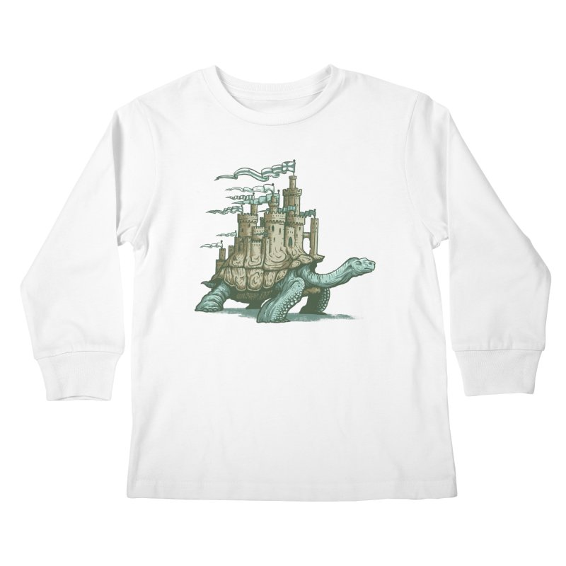 Slow and steady Kids Longsleeve T-Shirt by Alexhovey's Artist Shop