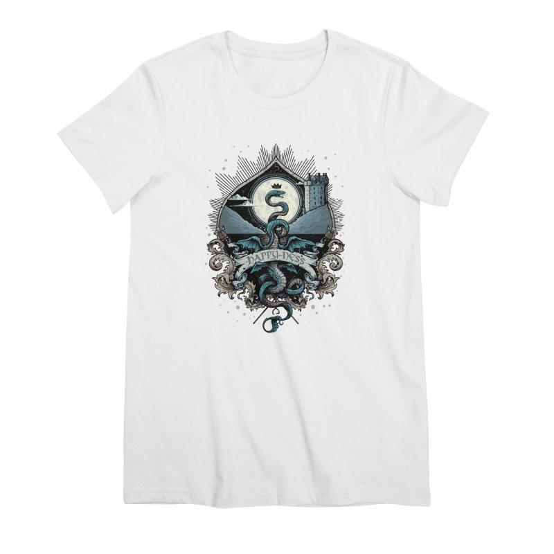 Happy Ness Women's Premium T-Shirt by Alexhovey's Artist Shop