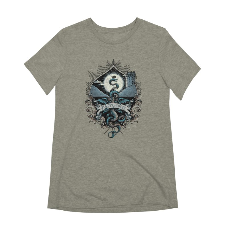 Happy Ness Women's Extra Soft T-Shirt by Alexhovey's Artist Shop