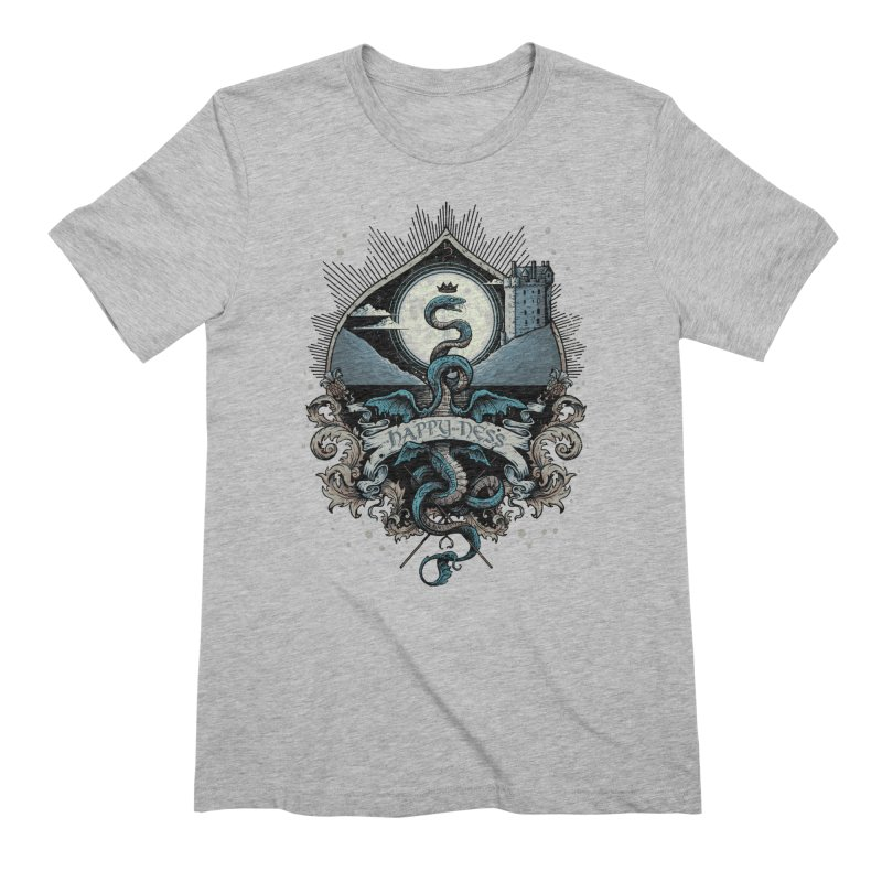 Happy Ness Men's Extra Soft T-Shirt by Alexhovey's Artist Shop