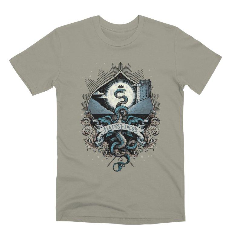 Happy Ness Men's Premium T-Shirt by Alexhovey's Artist Shop