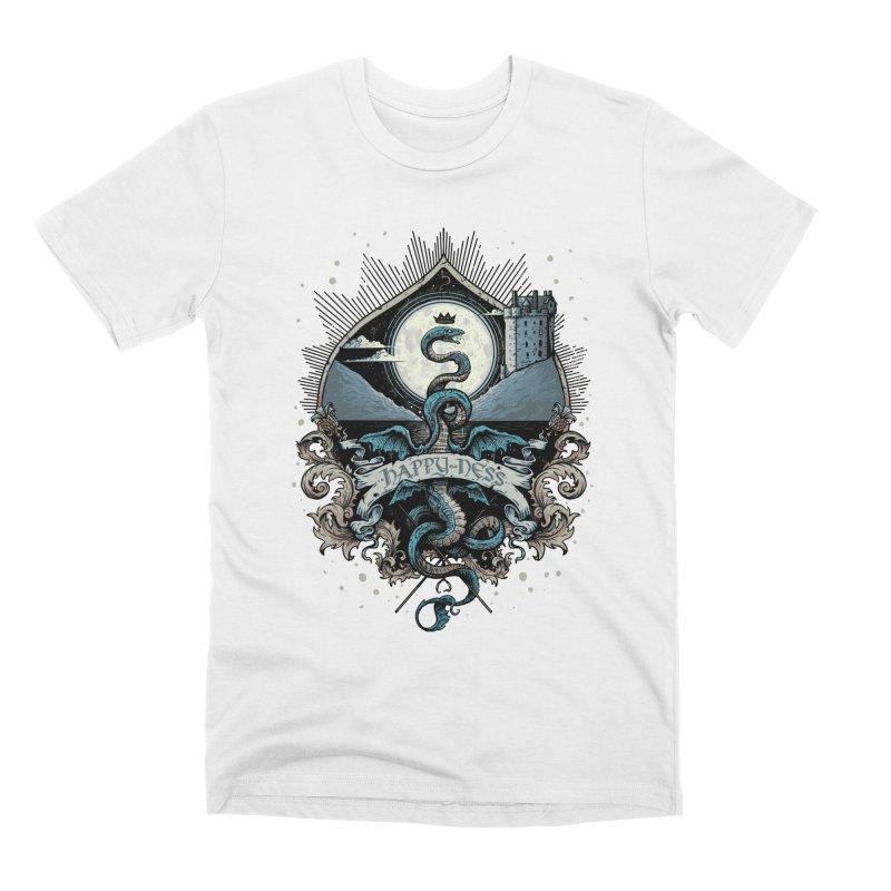 Happy Ness Men's T-Shirt by Alexhovey's Artist Shop