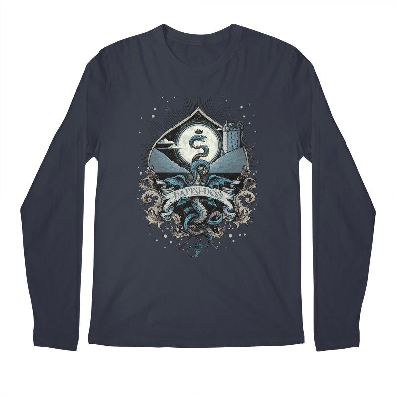 Happy Ness Men's Longsleeve T-Shirt by Alexhovey's Artist Shop