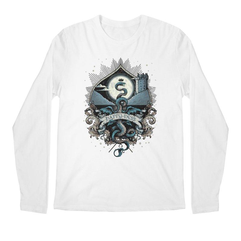 Happy Ness Men's Regular Longsleeve T-Shirt by Alexhovey's Artist Shop