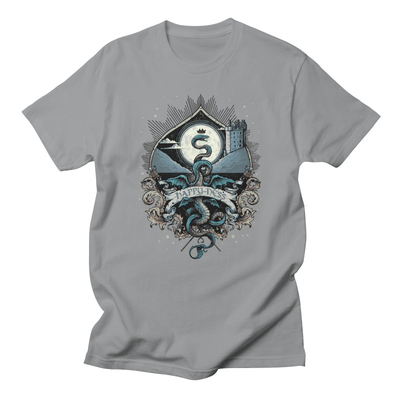 Happy Ness Women's Regular Unisex T-Shirt by Alexhovey's Artist Shop