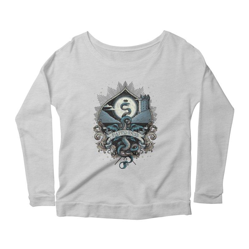 Happy Ness Women's Scoop Neck Longsleeve T-Shirt by Alexhovey's Artist Shop