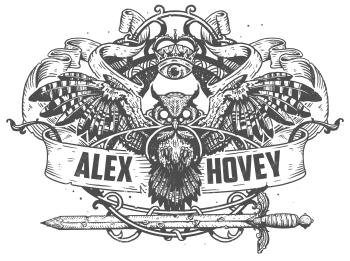 Alexhovey's Artist Shop Logo