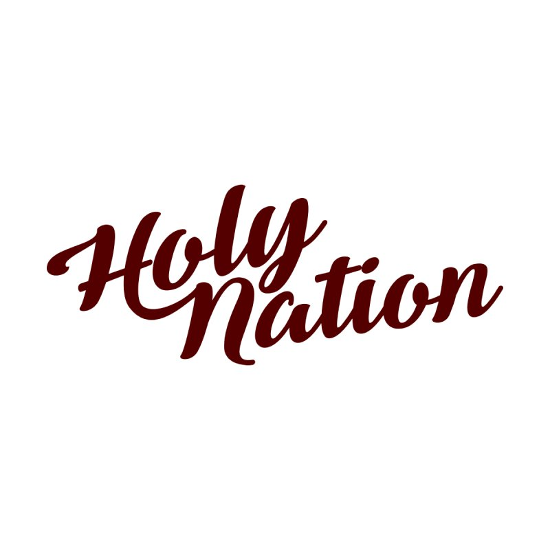 Holy Nation Burgundy by All Day Jesus Gear