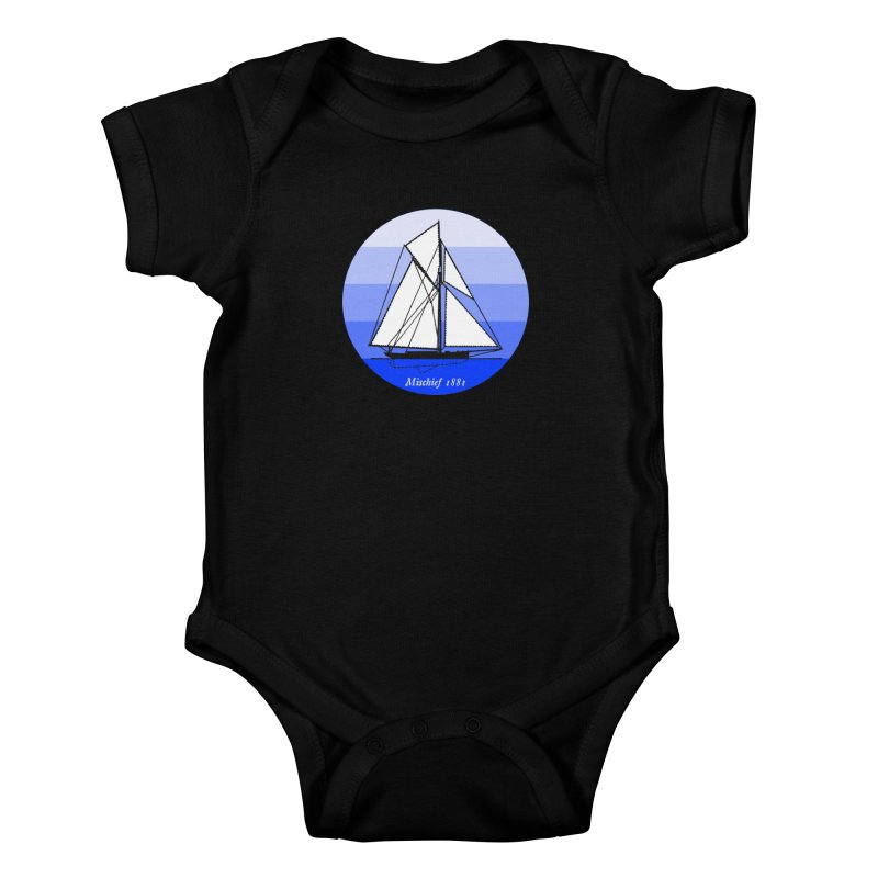 Mischief Kids Baby Bodysuit by Sailor James