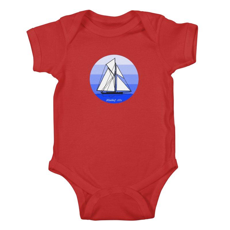 Mischief Kids Baby Bodysuit by Sailor James