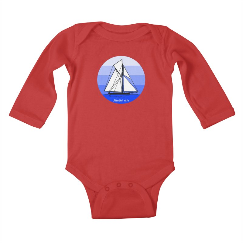 Mischief Kids Baby Longsleeve Bodysuit by Sailor James