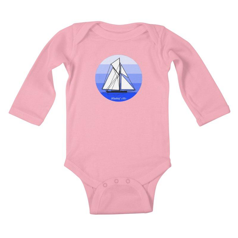 Mischief Kids Baby Longsleeve Bodysuit by Sailor James