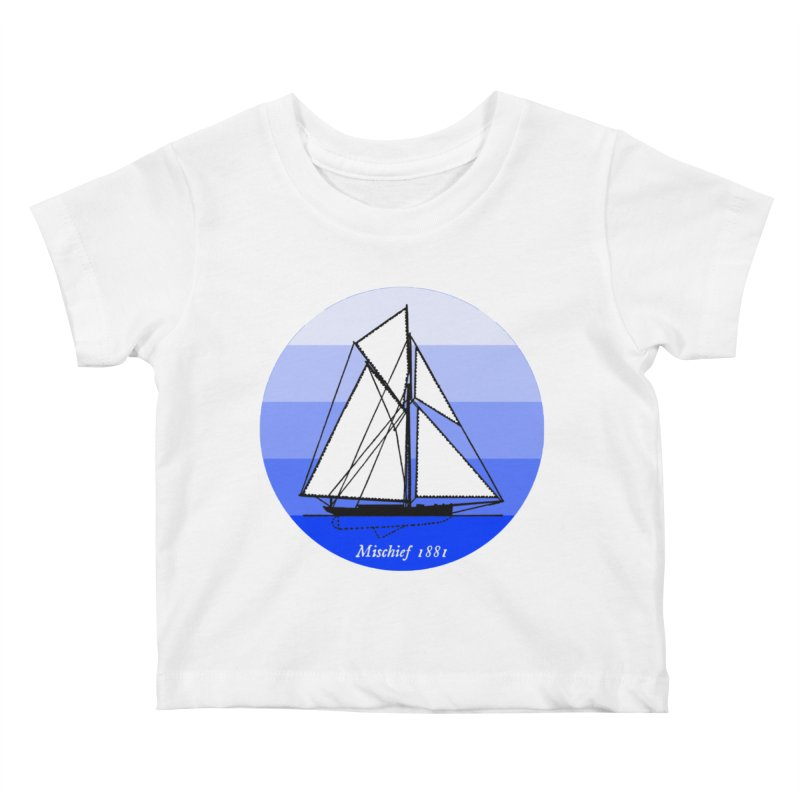 Mischief Kids Baby T-Shirt by Sailor James