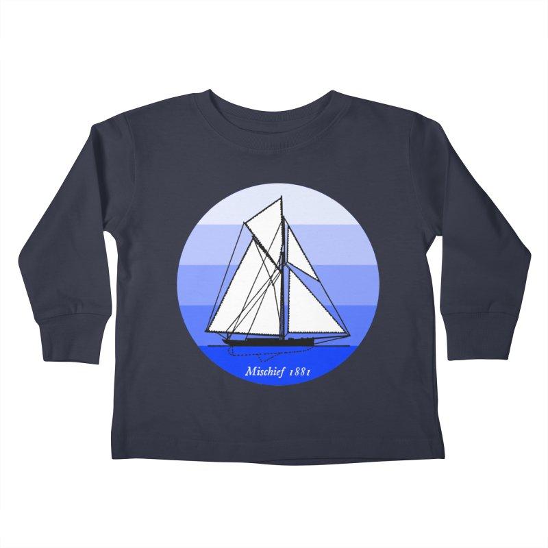 Mischief Kids Toddler Longsleeve T-Shirt by Sailor James