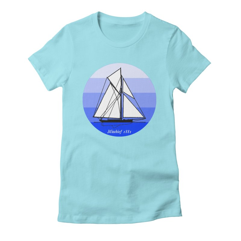 Mischief Women's Fitted T-Shirt by Sailor James