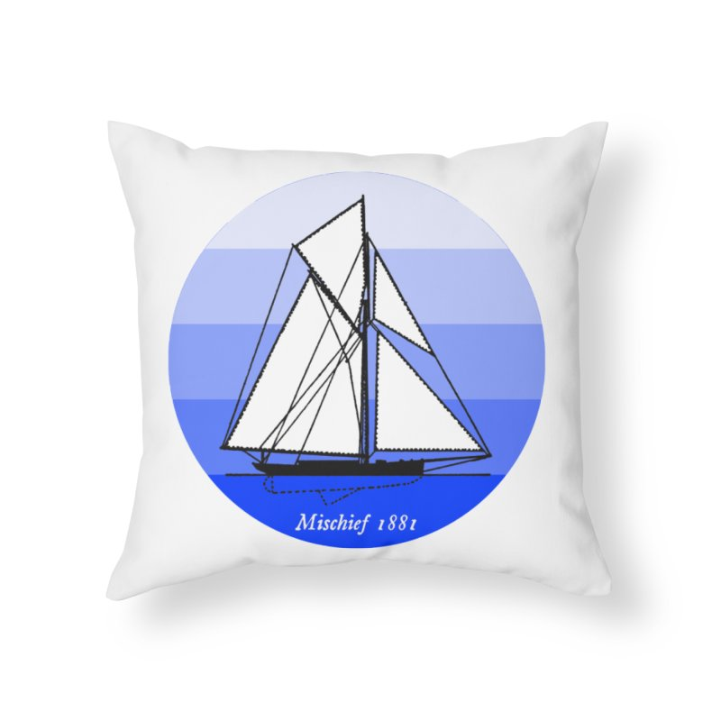 Mischief Home Throw Pillow by Sailor James