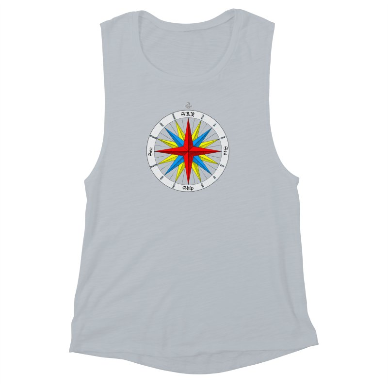 Offshore... In the Sea Women's Muscle Tank by Sailor James