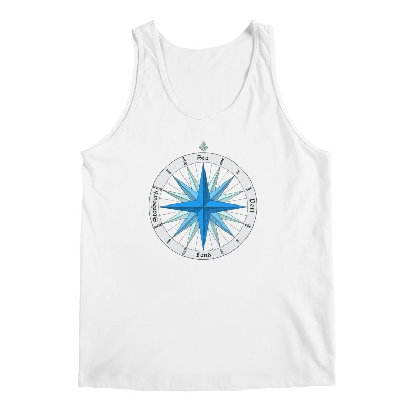 Onshore... Head in the Sea Men's Regular Tank by Sailor James