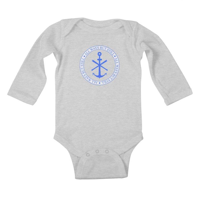 All Ways But Still Logo Kids Baby Longsleeve Bodysuit by Sailor James