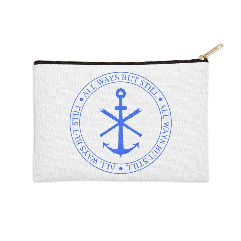 All Ways But Still Logo Accessories Zip Pouch by Sailor James