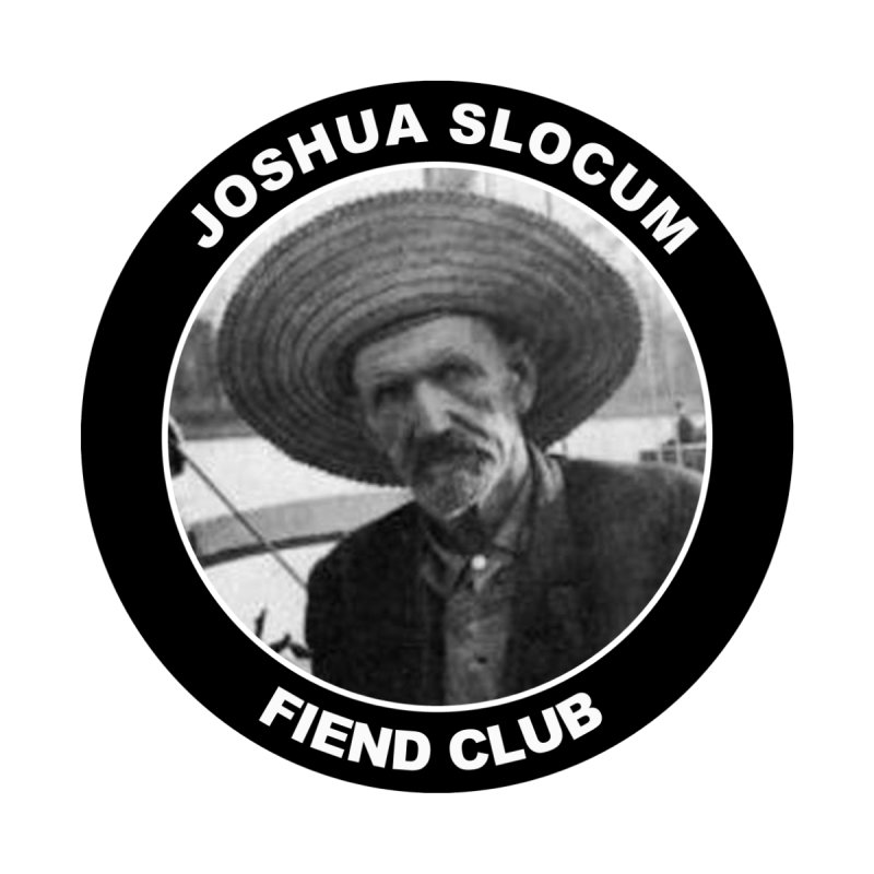 Joshua Slocum Fiend Club Home Blanket by Sailor James