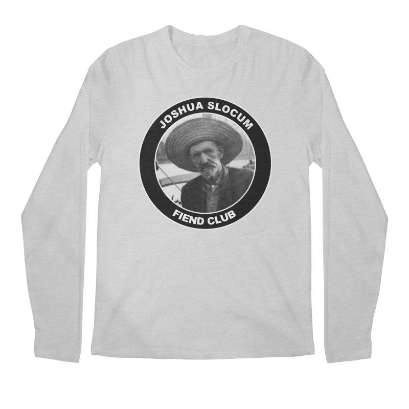 Joshua Slocum Fiend Club Men's Regular Longsleeve T-Shirt by Sailor James