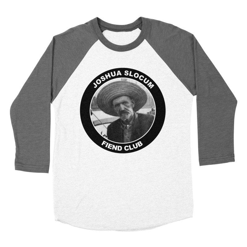 Joshua Slocum Fiend Club Men's Baseball Triblend Longsleeve T-Shirt by Sailor James