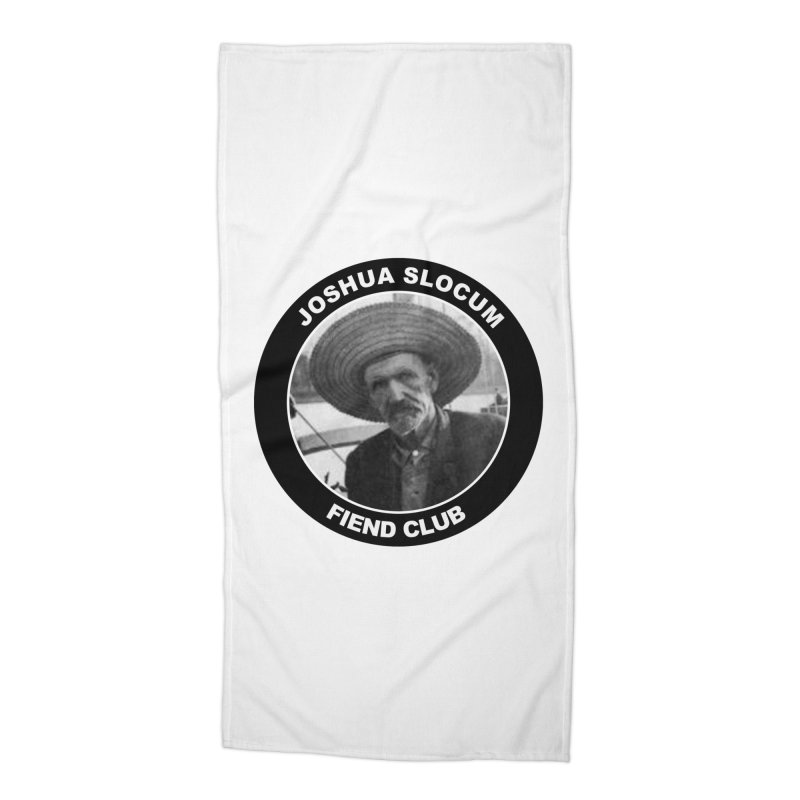 Joshua Slocum Fiend Club Accessories Beach Towel by Sailor James