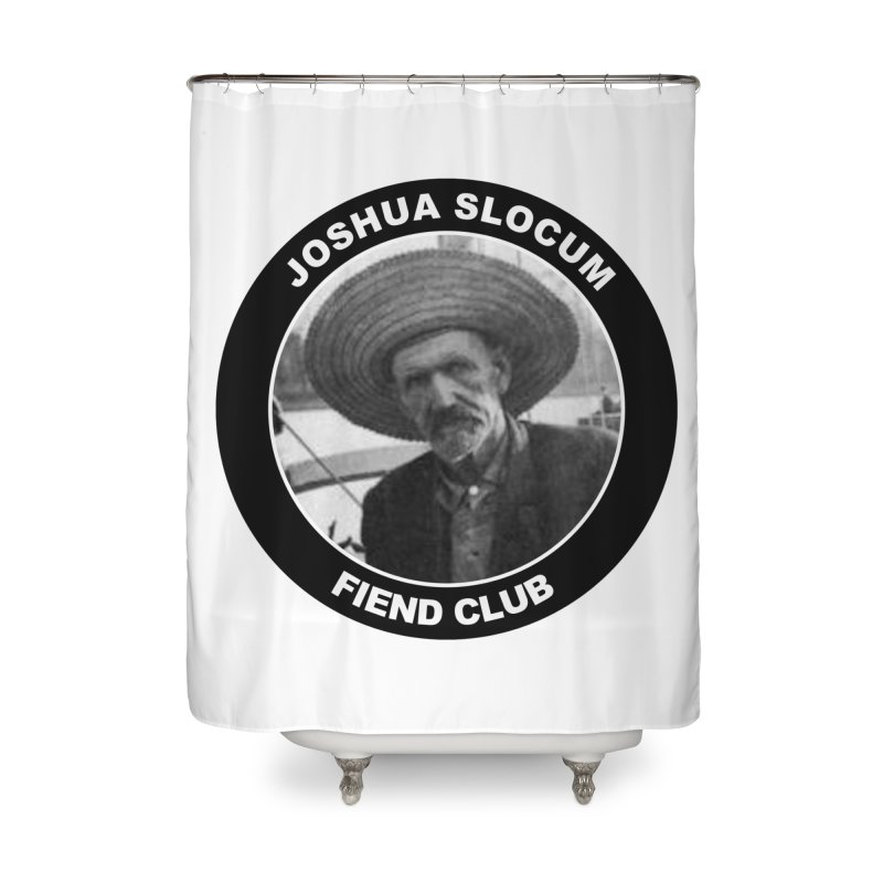 Joshua Slocum Fiend Club Home Shower Curtain by Sailor James