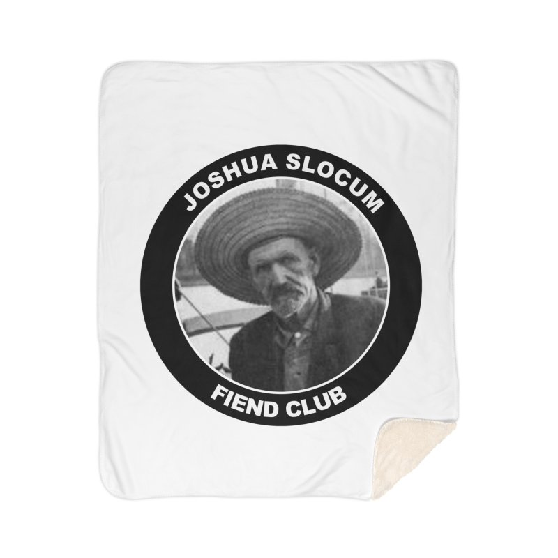Joshua Slocum Fiend Club Home Sherpa Blanket Blanket by Sailor James