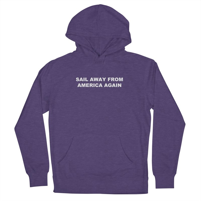 Sail Away Men's French Terry Pullover Hoody by Sailor James